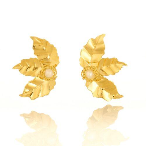 Daniela-Alvarez-Boutique-Accesorios-Topos-tres-hojas-perla-pequeña-3-4-117